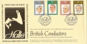 1980 British Conductors PPS Halle Official FDC