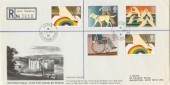 1981 Year of Disabled, Leeds Castle Disabled Visitors Project FDC, Rare.