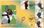 2001 Fabulous Hats Peter Payne Wimbledon Official FDC