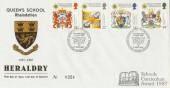 1987 Scottish Heraldry Queen's School Rheindahlen Official FDC
