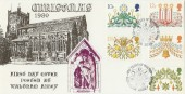 1980 Christmas Hawkwood Official Waltham Abbey FDC