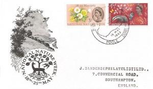 1963 Nature Week Ordinary set, BPA/PTS FDC, Brownsea Island Opening Week Poole H/S