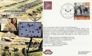1994 D-Day, 50th Anniversary Normandy Landings Juno Beach Official FDC, 50th Anniversary D-Day Landings British Forces 2418 Postal Services Juno Beach H/S