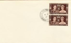 1967 30th Anniversary of George VI Coronation Cover, unusual