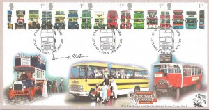 2001 Buses, Bradbury Sovereign 5 Official FD, signed by Lord Stokes
