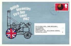 1967 British Discoveries, IOR Thyristors Advertising Card FDC, London SE1 FDI
