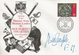 1971 The Opening of the National Army Museum London by HM the Queen, Signed by Field Marshall Sir Gerald Templer.