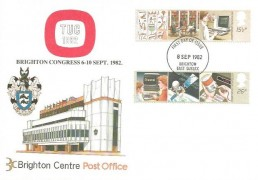 1982 Information Technology, TUC Brighton Congress FDC, Brighton East Sussex FDI.