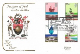 1978 Energy, Cotswold FDC, Coal is Precious Celebrating 101 Years of Mining at South Leicester Colliery 1877-1978 Ellistown Leicester H/S.