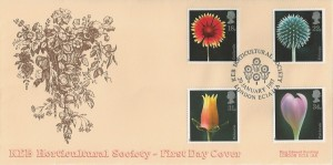 1987 Flowers, KEB Horticultural Society Official Covercraft FDC, KEB Horticultural Society London EC1A H/S