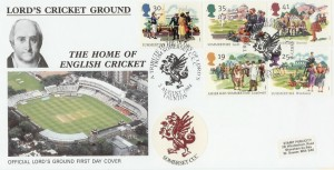 1994 Summertime Somerset County Cricket Club Official FDC