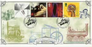 1999 Inventors' Tale Bradbury Victorian Print No.128 Official FDC,  Steam Power Paddington  London W2 H/S