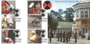 2005 Trooping the Colour, Bletchley Park Post Office Official FDC, Trooping the Colour Bletchley Park Post Office Bletchley Milton Keynes H/S