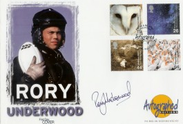 2000 Above & Beyond Westminster Official FDC, RAF Cranwell Sleaford Lincs. H/S, Signed by Rory Underwood