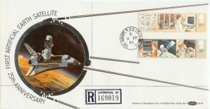 1982 Information Technology Benham BLS 6 FDC, The Rocket Liverpool 13 cds
