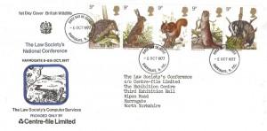 1977 British Wildlife, The Law Society's National Conference FDC, Harrogate N.Yorks. FDI