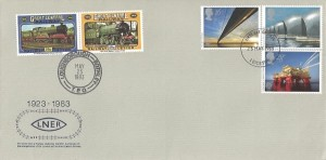 1983 Engineering, London North Eastern Railway (LNER) FDC, Leicester FDI