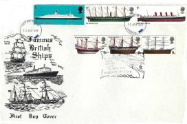 1969 British Ships, Illustrated FDC, Cutty Sark Stamp Day Greenwich SE10 H/S