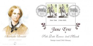 2005 Set of 6 Bradbury Sovereign FDC's with the bottom right margin pair of stamps showing the sale date as 3 Mar 2005 - this is a print error and should be 24 Feb. Each cover with a different Bronte H/S