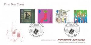 1999 Citizens' Tale, Motronic Services FDC, Towards the Millennium New Lanark H/S