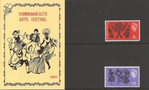1965 Commonwealth Art Festival Privately Produced Presentation Pack