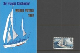 1967 Sir Francis Chichester Privately Produced Presentation Pack