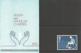 1975 Health and Handicap Charities Privately Produced Presentation Pack