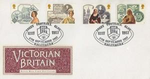 1987 Victorian Britain, Royal Mail FDC, Rugby Football Club 1887 - 1987 Ballymena H/S