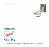 1980 Queen Mothers 80th Birthday, Paramins Official FDC, Paramins 50 Years Southampton H/S