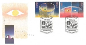 1991 Europe in Space, Royal Mail FDC, Salvation Army Match Factory Centenary Old Ford London E3 H/S