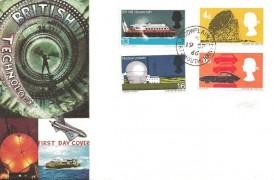 1966 British Technology, Connoisseur FDC, Cowplain Portsmouth Hants. cds