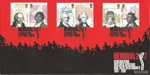 2007 Abolition of Slavery, Bletchley Park Official FDC, Memorial 2007 Hyde Park London H/S