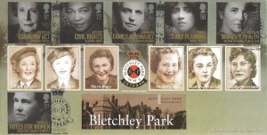 2008 Women of Distinction, Bletchley Park Official FDC, Bletchley Park WW2 Veterans Bletchley H/S