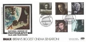 1985 British Film Year Bradford Benham BLCS7 Official FDC, British Film Year Bradford West Yorkshire H/S