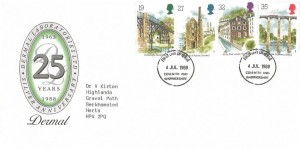 1989 Industrial Archaeology, Dermal Laboratories Ltd 25th Anniversary FDC, Coventry and Warwickshire FDI