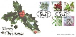 2002 Christmas, Benham BLCS 240 Official FDC, Christmas Bethlehem Llandeilo H/S
