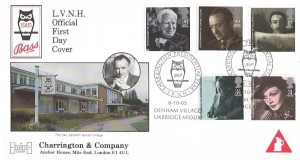 1985 British Film Year, Bass Charrington Havering Official FDC, Charrington Presidential Year L.V.N.H Denham Village Uxbridge H/S