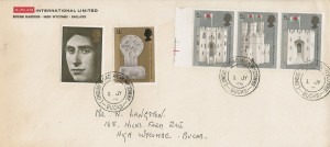 1969 Prince of Wales Investiture, G-Plan International Limited FDC, London Road High Wycombe Bucks. cds