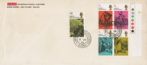 1970 Literary Anniversaries, G-Plan International Limited FDC, London Road High Wycombe Bucks. cds