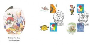 2009 Smilers for Kids, Privately Produced Printed FDC, Smilers for Kids London W8 H/S