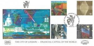 1999 Workers' Tale, Havering 150 Club Official FDC, The City of London Financial Capital of the World London EC4 H/S