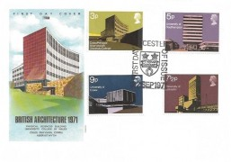 1971 Universities, Philart FDC, First Day of Issue Leicester H/S