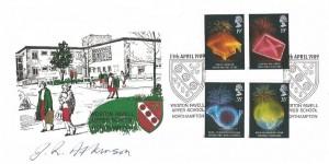 1989 Anniversaries, Weston Favell School FDC, Weston Favell Upper School Northampton H/S, Signed