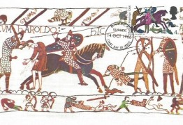 1966 Battle of Hastings, Cameo Stamps Maxicard FDC 4d  Ordinary stamp only, Battle FDI