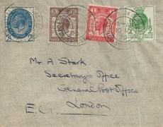 1929 Postal Union Congress, Plain FDC, Postal Union Congress London cds