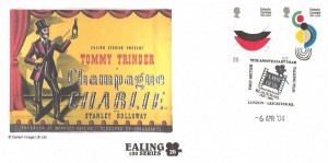 2004 Entente Cordiale, Cambridge Ealing Series Official FDC, 75th Anniversary Year First British Talking Film London Leicester SQ.H/S