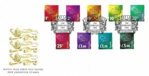 1994 To Pay Labels, Postage Due Labels, Royal Mail New Definitive Stamps FDC, To Pay Labels Windsor H/S