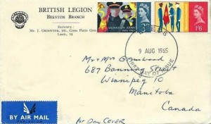 1965 Salvation Army, British Legion Beeston Branch, Leeds FDI