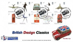 2009 British Design Classics, GBFDC Official FDC, GBFDC Association British Design Classics Cowley Oxford H/S