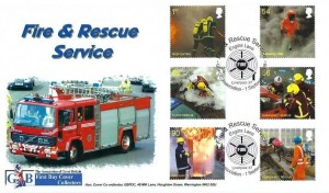 2009 Fire & Rescue, GBFDC Official FDC, GBFDC Association Fire & Rescue Service Engine Lane Liverpool 37 H/S